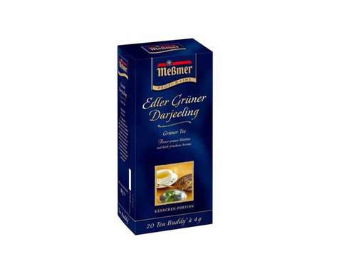 Чай зеленый в пакетиках Messmer Зеленый Дарджилинг, 20 пак/уп, 4 г