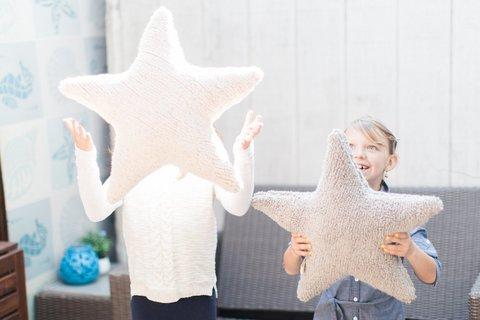 Подушка Lorena Canals Star Beige (50 х 50 см)