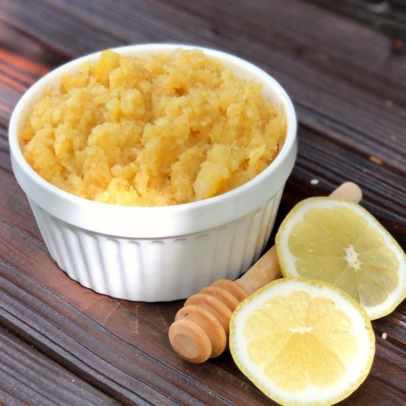 Фотография Имбирная смесь для иммунитета (мед 38%) / 660 гр купить в магазине Афлора