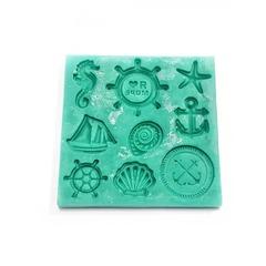 0012 Молд силиконовый Море