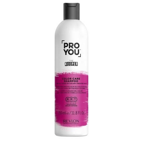 REVLON ProYou Keeper: Шампунь защита цвета для всех типов окрашенных волос (Color Care Shampoo), 350мл/1л