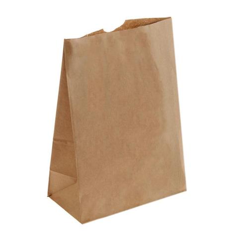 Пакет упаковочный крафт средний