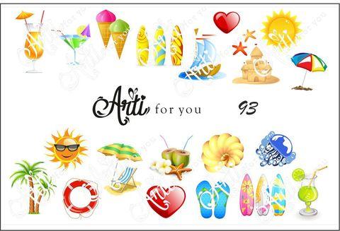 Слайдер наклейки Arti for you 93 купить за 100руб