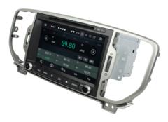 Магнитола Kia Sportage 2016-2018 Anndroid 9.0 IPS DSP модель GF-8077 KD