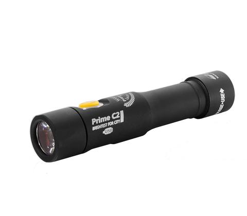 Фонарь светодиодный Armytek Prime C2 Magnet USB+18650, 1160 лм, теплый свет, аккумулятор