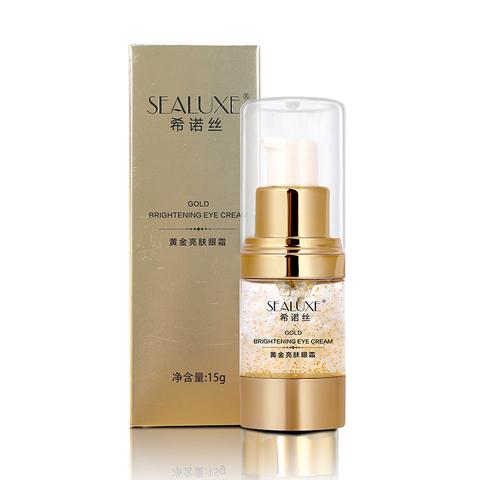 Золотой осветляющий крем для глаз Sealuxe 15 г