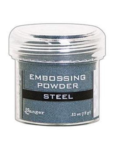 Пудра для эмбоссинга Ranger Ink- STEEL