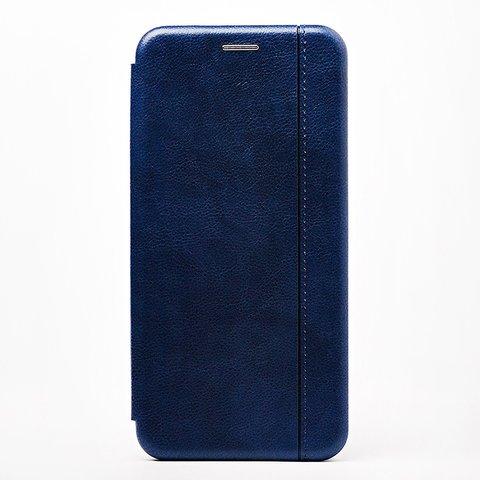 Чехол книжка для Huawei Honor 20/20S/Nova 5T | магнит подставка синий