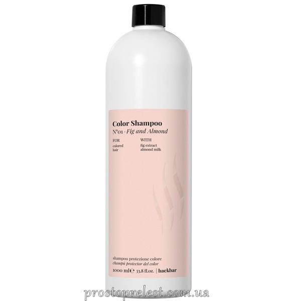 Farmavita Back Bar Fig And Almond Color Shampoo - Шампунь для окрашенных волос 1000мл