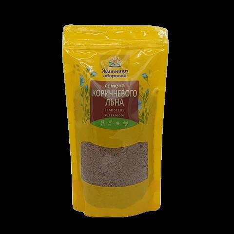 Семена коричневого Льна ЖИТНИЦА ЗДОРОВЬЯ, 230 гр