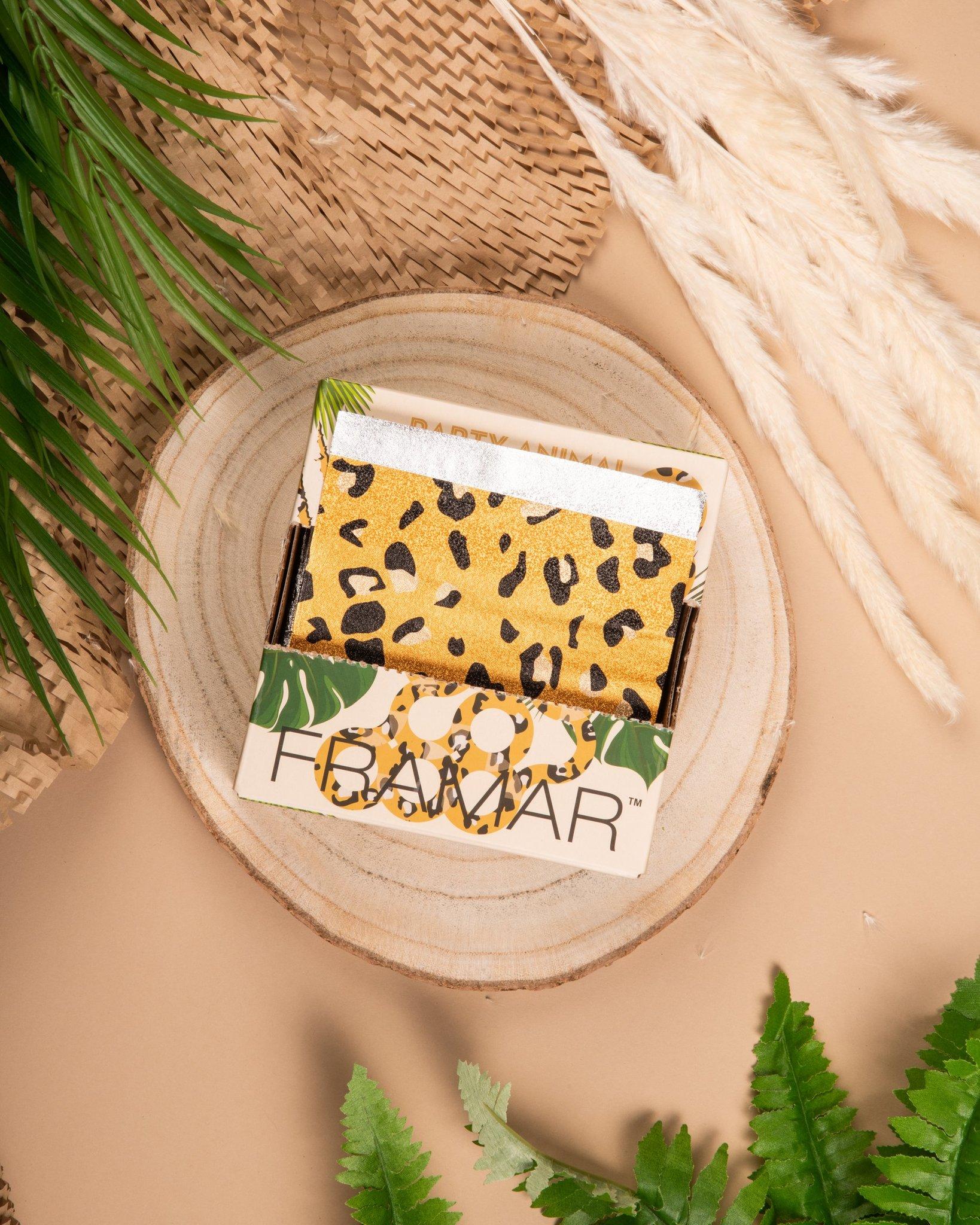 Party Animal - Pop Up Framar   Вытяжная фольга с тиснением «Зов джунглей» (500 листов 12,5 х 28 см) Лимитированная коллекция.