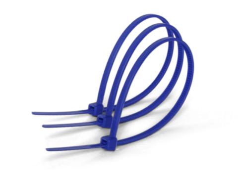 Хомуты нейлоновые 3,6х200мм (синий) (25 штук) TDM