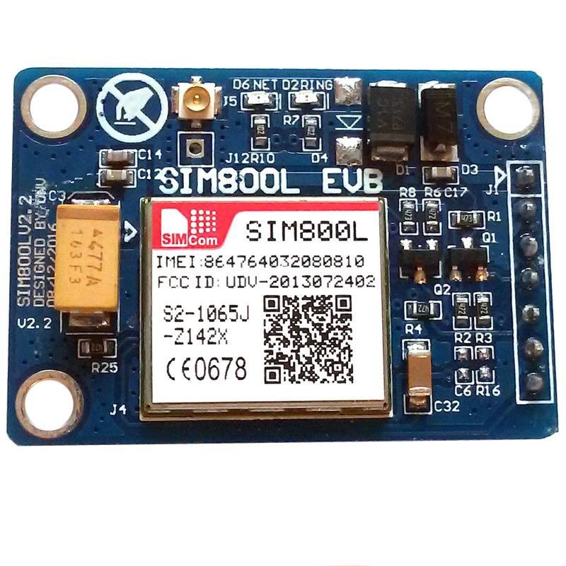 Модуль GSM/GPRS SIM800L с антенной