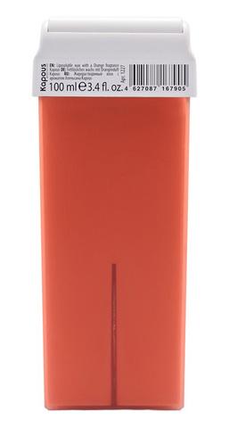 Жирорастворимый воск с ароматом Апельсина, 100 мл в картридже Kapous