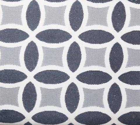 Портьерная ткань двухсторонний жаккард Любава насыщенный серый