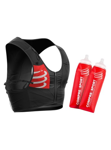 Рюкзак для бега + 2 мягкие фляжки по 500мл