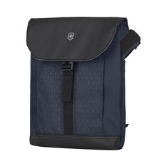 Сумка Victorinox Altmont Original Flapover Digital Bag, синяя, 26x10x30 см, 7 л