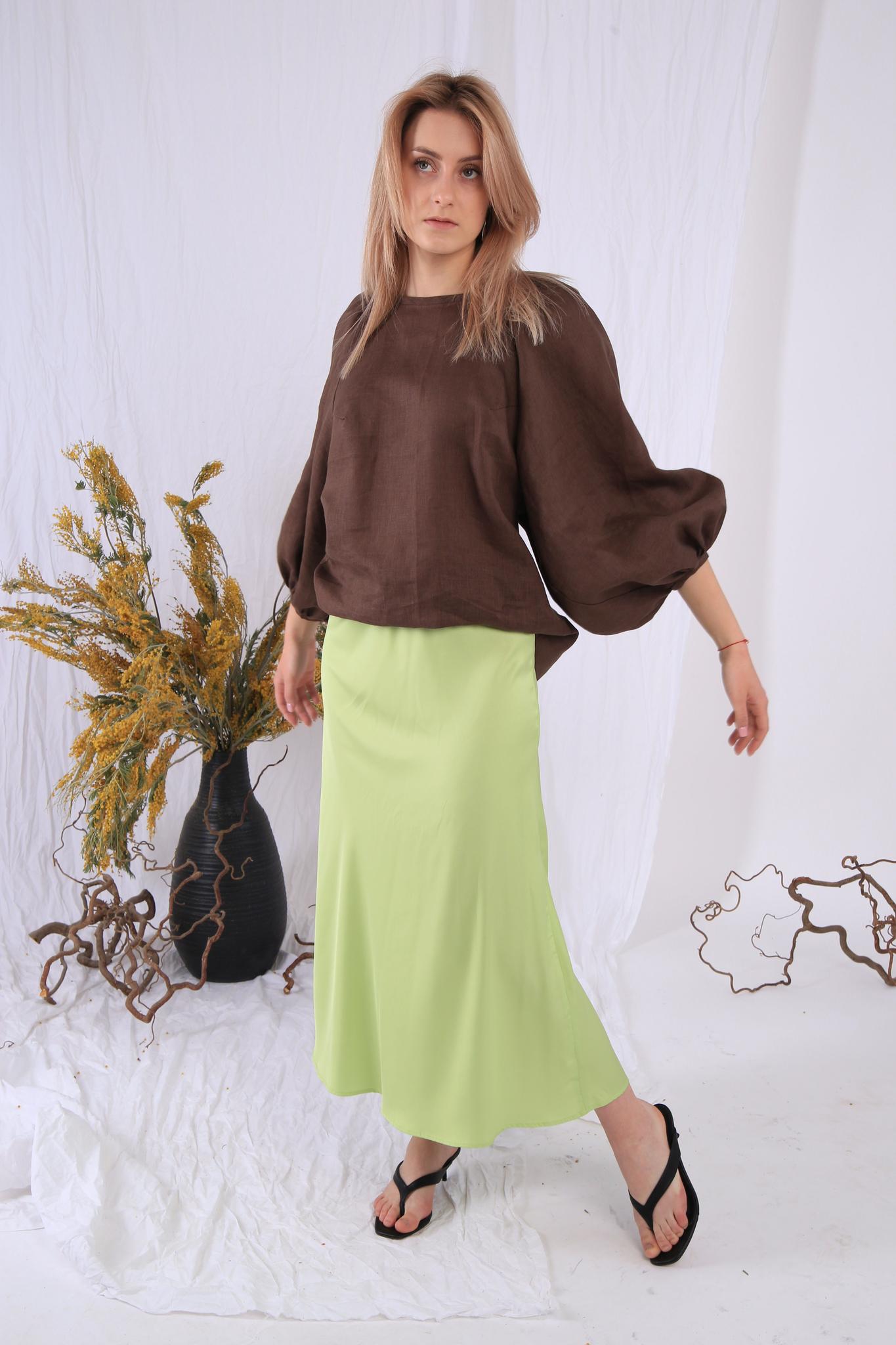 Блуза изо льна