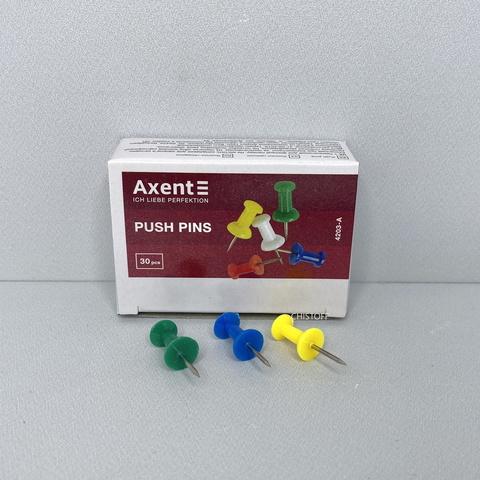 Кнопки канцелярские Axent