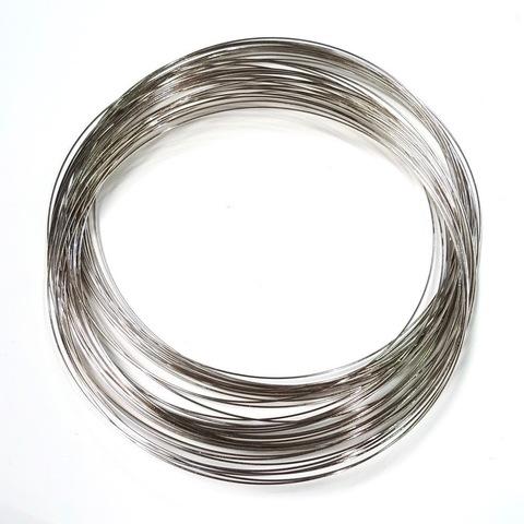 Мемори проволока для колье 0,9 мм 10 витков