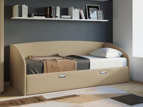 Кровать Софа Bono с ящиками для белья
