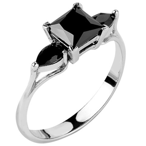 Кольцо из серебра с нано шпинелью Арт.1221н-шп