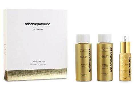 Набор-люкс для интенсивного питания и восстановления / Miriamquevedo Sublime Gold Global Rejuvenation Set