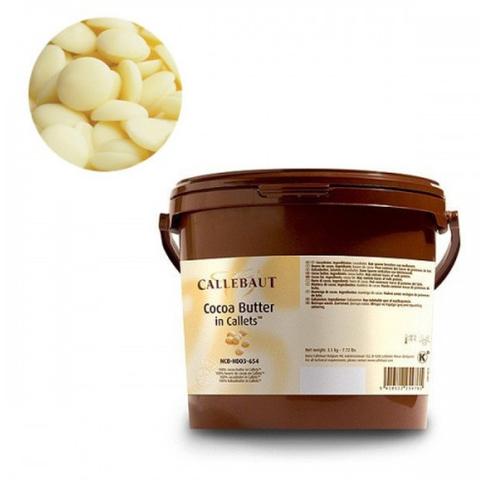 Масло какао в каллетах / галетах Barry Callebaut