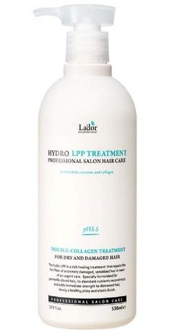 LA'DOR Маска увлажняющая для сухих и поврежденных волос Hydro LPP Treatment 530 мл