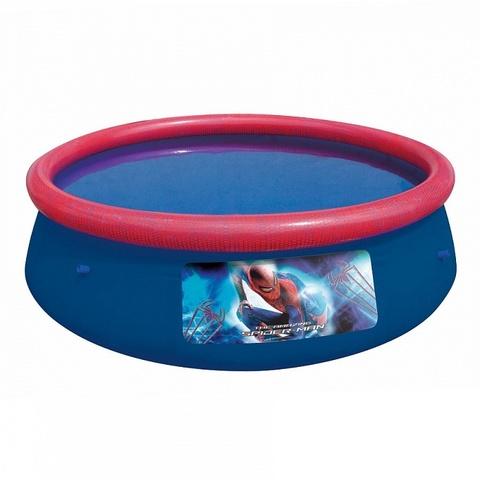 Бассейн с надувным бортом детский 244х66см 2300л