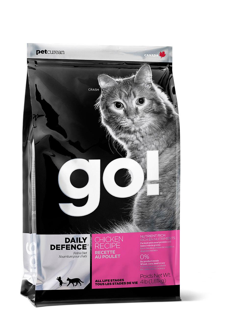 купить сухой корм Go Гоу для котят и кошек с курицей, фруктами и овощами