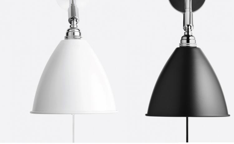 Настенный светильник копия Bestlite BL5 by Gubi (белый)
