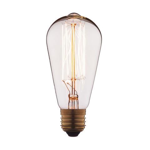 Лампа накаливания E27 40W колба прозрачная 1007