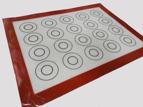 Коврик силиконовый армированный с разметкой, 30х40 см