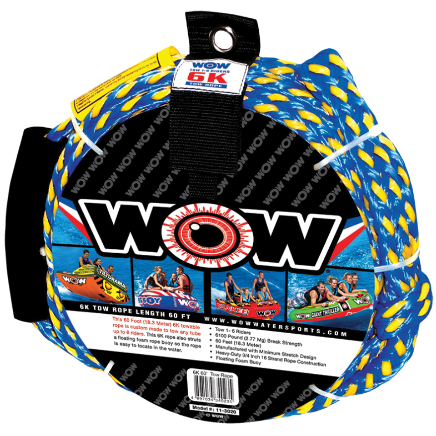 Tow rope, up to 6 person