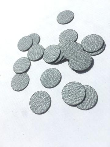 ATIS Файлы для педикюрных дисков 10 мм - 180 грит СЕРЫЕ (50 штук)