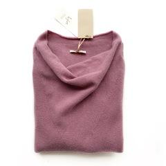 Пуловер с глубоким вырезом (Пепельная роза)