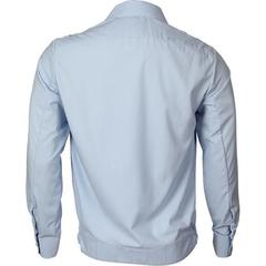 Рубашка форменная мужская дл/рук. голубая