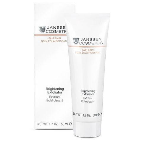 Janssen Fair Skin: Пилинг-крем для выравнивания цвета лица (Brightening Exfoliator)