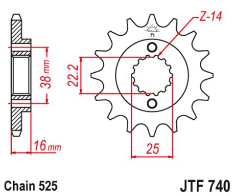 JTF740