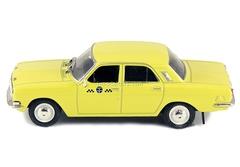 GAZ-24-01 Volga Taxi USSR 1:43 DeAgostini Service Vehicle #30