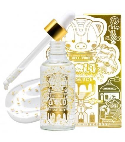 Elizavecca Milky Piggy Hell-Pore Gold Essence  увлажняющая омолаживающая эссенция с 24-каратным золотом