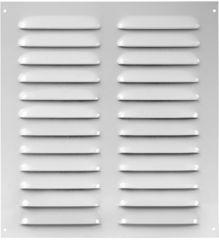 Решетка металлическая белая 255х280мм Europlast MR2628