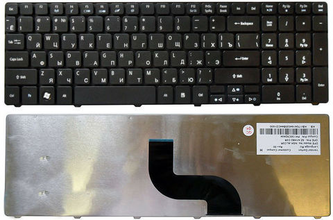 Клавиатура для ноутбука Acer Aspire 5810T 5410T 5820TG 5536 5738 5739 5542 5551 5553G 5741G 5745 7540G 7551G 7736ZG 7745G 8935G E640G E730