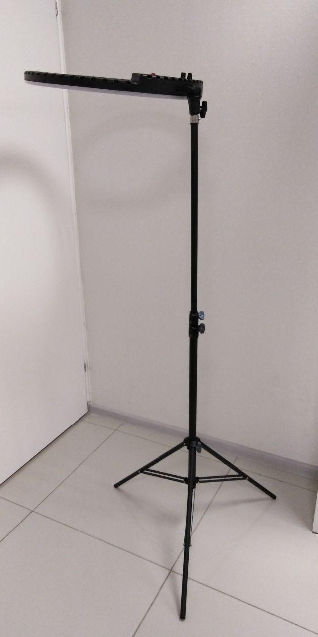 Кольцевая светодиодная LED лампа HQ-21N Ring Light диаметром 54 СМ