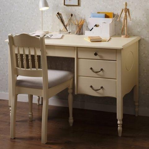 Письменный стол прованс Айно 8 (белый скандик)