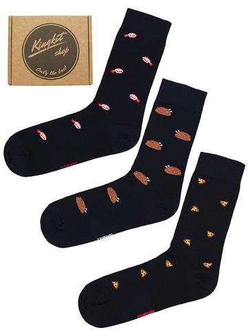 Набор Черных носков 3-78