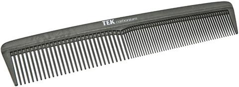 Расческа карбоновая комбинированная Tek 2270C