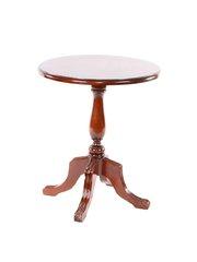 Daisy table Журнальный столик 60х60х70 см (Цвет: NBA Pecan - Темная вишня) MK-3230-SA