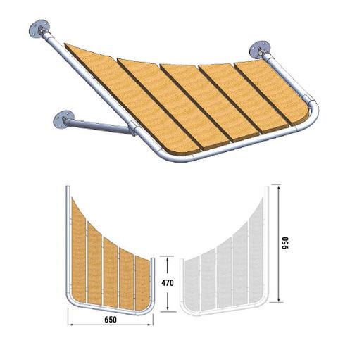 Платформа кормовая (левый борт) 470х650х950 мм